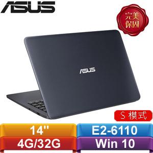 【拆封出清】ASUS L402WA-0062BE26110 14吋筆電 紳士藍