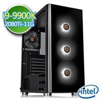 技嘉Z390平台【破淨方陣】i9八核 RTX2080Ti-11G獨顯 SSD 480G效能電腦