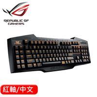 ASUS 華碩 STRIX TACTIC PRO 機械式電競鍵盤-紅軸 中文