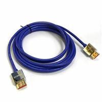 極細HDMI2.0版高階影音傳輸線 3M 藍色