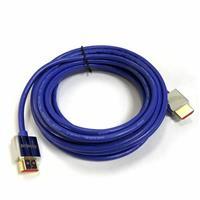 極細HDMI2.0版高階影音傳輸線 5M 藍色