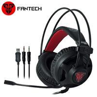 FANTECH HG13 LED燈效立體聲耳罩式電競耳機
