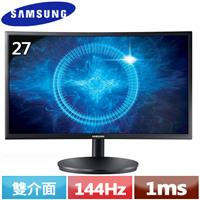 R1【福利品】SAMSUNG三星 C27FG70FQE 27型 玩家級曲面液晶螢幕