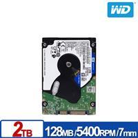 WD20SPZX 藍標 2TB(7mm) 2.5吋SATA硬碟