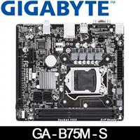 GIGABYTE技嘉 GA-B75M-S 主機板