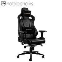 noblechairs 皇家 EPIC系列電競賽車椅 真皮經典款 黑