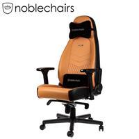 noblechairs 皇家 ICON系列電競超跑椅 真皮尊爵款 琥珀黃/黑