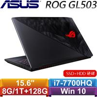 ASUS華碩 ROG Hero GL503VD-0021D7700HQ 15.6吋電競筆記型電腦