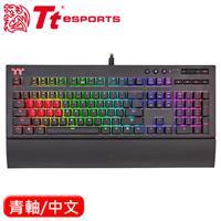 Thermaltake 曜越 X1 RGB 機械電競鍵盤 Cherry MX 青軸 中文