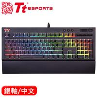 Thermaltake 曜越 X1 RGB 機械電競鍵盤 Cherry MX 銀軸 中文