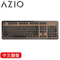 AZIO RETRO ELWOOD BT 藍牙核桃木打字機鍵盤 Typelit機械軸 中文