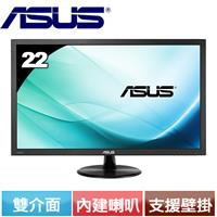 R1【福利品】ASUS VP228HE 22型低藍光不閃屏寬螢幕