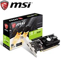 MSI微星 GeForce GT 1030 2GD4 LP OC 顯示卡