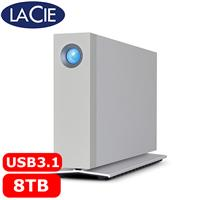 LaCie D2 3.5吋 8TB USB3.1/Thunderbolt3 行動硬碟
