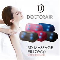 【福利品特賣】DOCTOR AIR 3D按摩枕MP001(黑色)