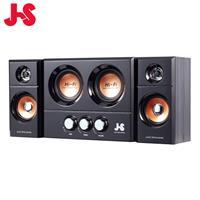 JS 淇譽 JY3250 2.1聲道 3件式 雙重低音全木質多媒體喇叭