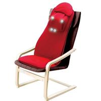 DOCTOR AIR MS-002 3D頂級按摩椅墊PREMIUM (紅)贈舒壓椅