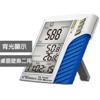 三合一壁掛/桌面兩用型二氧化碳計 TE-702D+