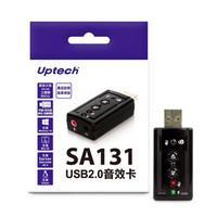 登昌恆Uptech SA131 USB2.0音效卡