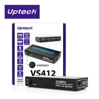 Uptech登昌恆 VS412 4-Port VGA螢幕分配器