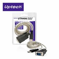 UTN406 USB to RS-232訊號轉換器