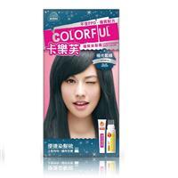 卡樂芙優質染髮霜-極光藍綠
