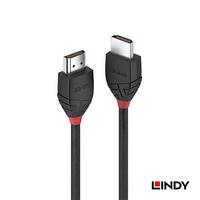 LINDY林帝 BLACK系列 HDMI 2.0(TYPE-A) 公 TO 公 傳輸線 2m