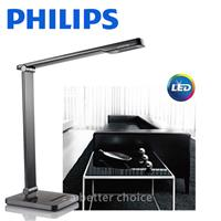 【飛利浦 PHILIPS LIGHTING】CALIPER 晶皓 (71666) LED 檯燈 - 黑