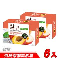 【6入超值組】韓國 MKH無窮花-杏桃保濕美肌皂 100g