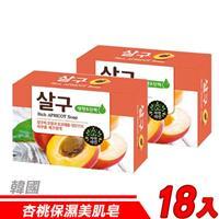 【18入超值組】韓國 MKH無窮花-杏桃保濕美肌皂 100g