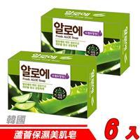 【6入超值組】韓國 MKH無窮花-蘆薈保濕美肌皂 100g
