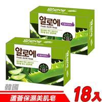 【18入超值組】韓國 MKH無窮花-蘆薈保濕美肌皂 100g