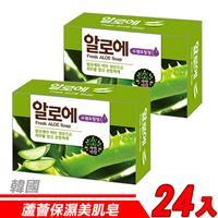 【24入超值組】韓國 MKH無窮花-蘆薈保濕美肌皂 100g