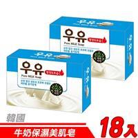 【18入超值組】韓國 MKH無窮花-牛奶保濕美肌皂 100g