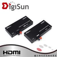 DigiSun EH638 HDMI 2芯電線影音訊號延長器 直線傳輸距離 : 3800公尺