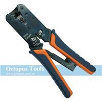 Octopus 8P電話網路線棘輪壓著鉗 HT-L2172R