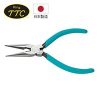 日本製 KING TTC 電子用尖嘴鉗 MR-125