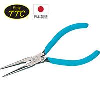 日本製 KING TTC 電子電工用細身尖嘴鉗 ER-150