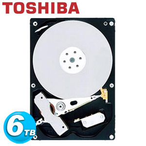 TOSHIBA 3.5吋 6TB SATA3 內接硬碟 MD04ACA600