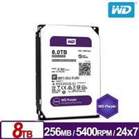 WD82PURZ 紫標 8TB 3.5吋監控系統硬碟