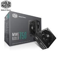 Cooler Master MWE 80Plus金牌 750W 電源供應器