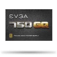 艾維克EVGA750W GQ 80PLUS 金牌半模組 電源供應器