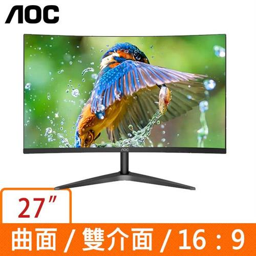AOC C27B1H  27吋(曲面16:9)液晶顯示器
