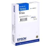EPSON 原廠高容量墨水匣 T01A250 藍