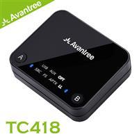 Avantree TC418 aptX 低延遲藍牙音樂發射器 (光纖/立體聲輸入一對二)