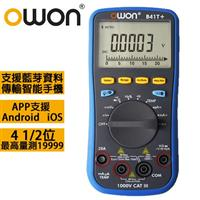OWON 智慧型4 1/2 TRMS三用電錶 B41T+
