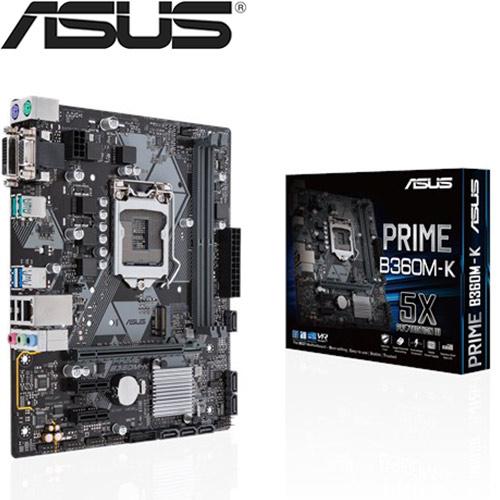 【拆封品出清】ASUS華碩 PRIME B360M-K 主機板