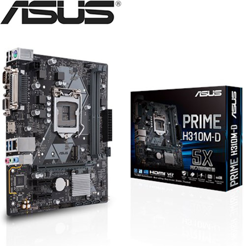 【拆封品出清】ASUS華碩 PRIME H310M-D 主機板