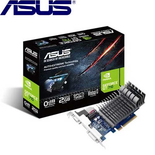 【拆封品出清】ASUS華碩 GeForce® 710-2-SL 顯示卡