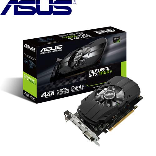【拆封品出清】ASUS華碩GeForce PH-GTX1050TI-4G 顯示卡